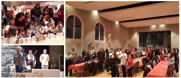 Consulado de Colombia en Vancouver conmemoró la noche de las velitas con los connacionales