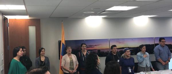 Segunda vuelta presidencial 2018 culmina hoy domingo 17 de junio en el Consulado de Colombia en Vancouver